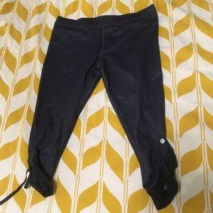 Rare Lululemon adjustable length leggings